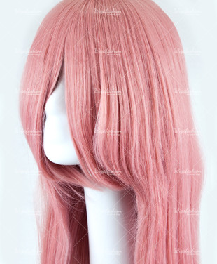 Light Pink Long Straight 85cm