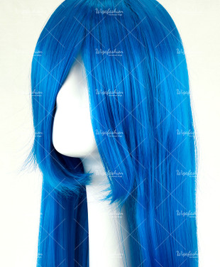 Baby Blue Long Straight 90cm