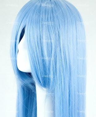 Steel Blue Long Straight 90cm