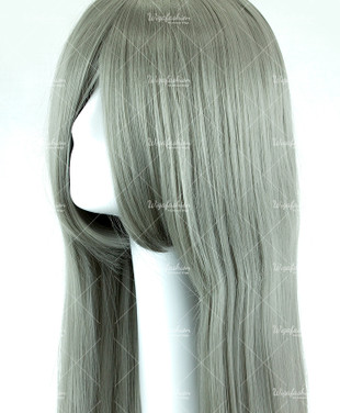 Ash Grey Long Straight 90cm