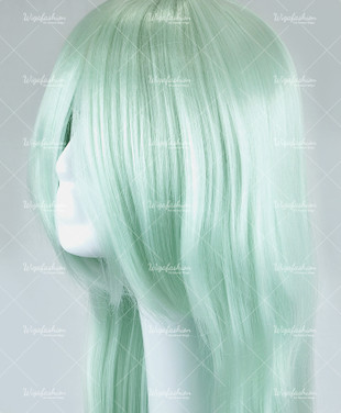 Honeydew Green Long Straight 95cm