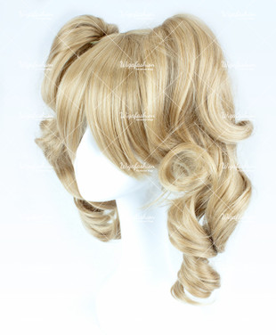 Tan Brown Short Curly 25cm
