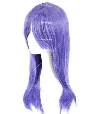 Lavender Violet Long Straight 70cm