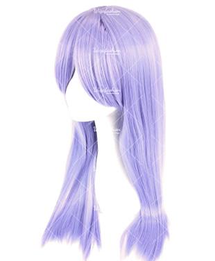 Amethyst Violet Long Straight 70cm