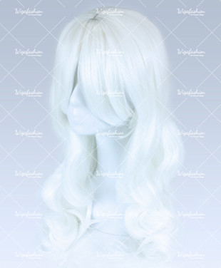Platinum Blonde Long Wavy 65cm