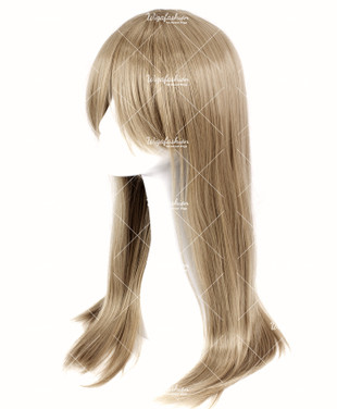 Ash Brown Long Straight 70cm