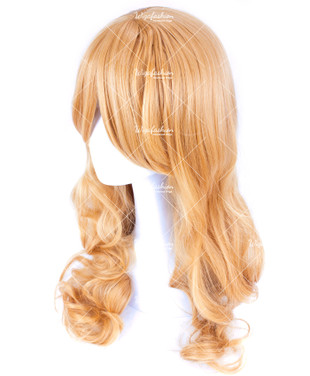 Pinkish Brown Long Wavy 65cm