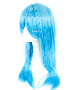 Maya Blue Long Straight 70cm