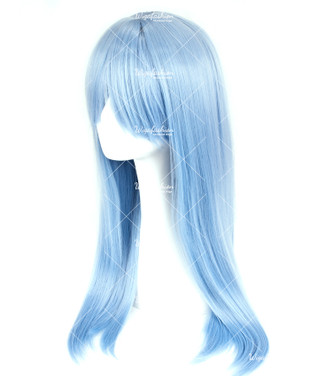 Columbia Blue Long Straight 70cm