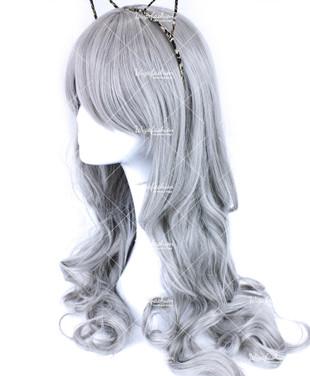 Ash Platinum Long Wavy 65cm