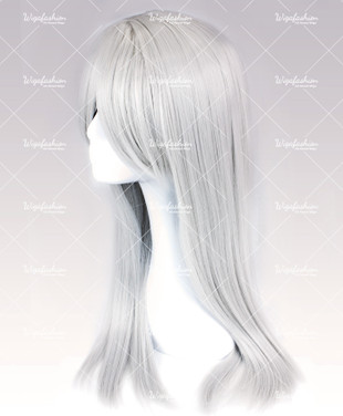 Silver Long Straight 70cm