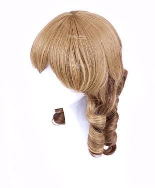 Light Brown Short Curly 40cm
