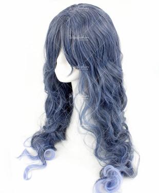 Queen Wavy Dark Violet