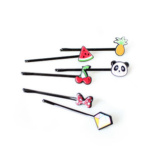 Cartoon Bobby Pin Set