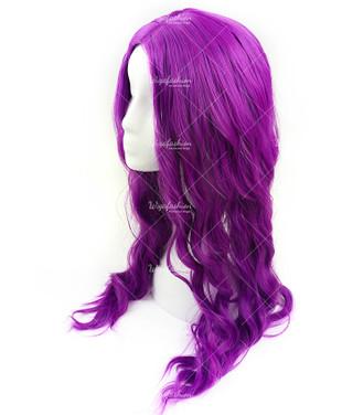 Dazzling Violet Long Wavy 67 cm