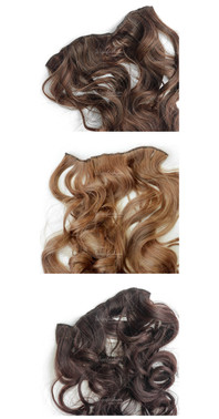 Curly One Piece Weft