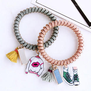 Casual Spiral Hair Ties