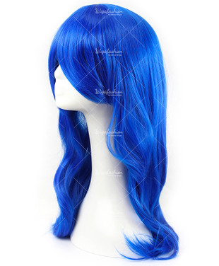 Electric Blue Cosplay Wig