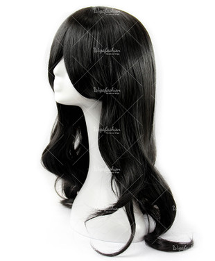 Jet Black Cosplay Wig