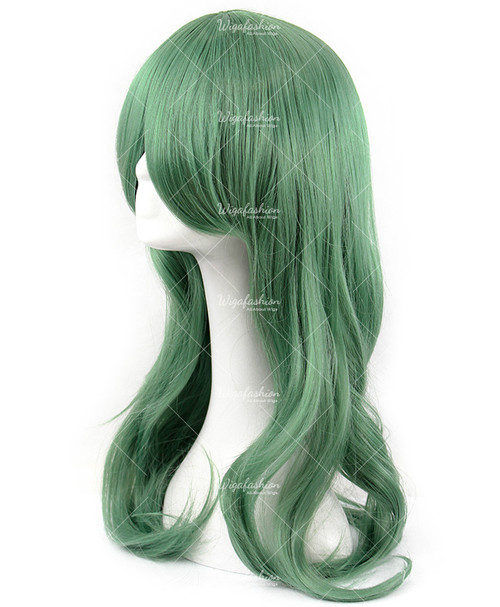 Mint Chocolate Green Wig