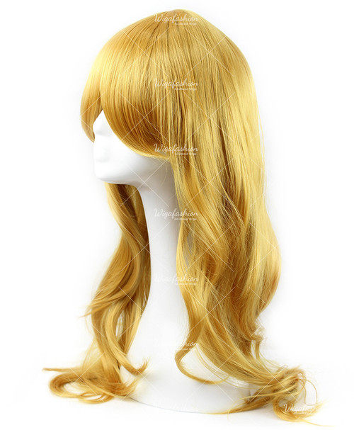 Gold Yellow Cosplay Wig