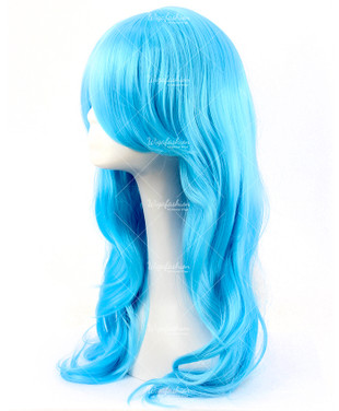 Bubblegum Blue Cosplay Wig