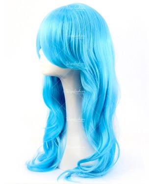 Bubblegum Blue Cosplay Wig