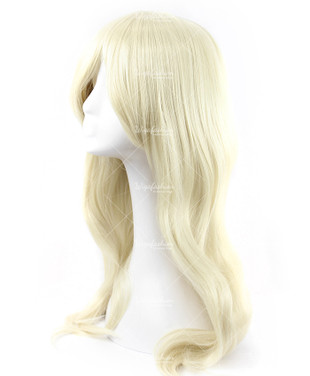 Beige Blonde Cosplay Wig