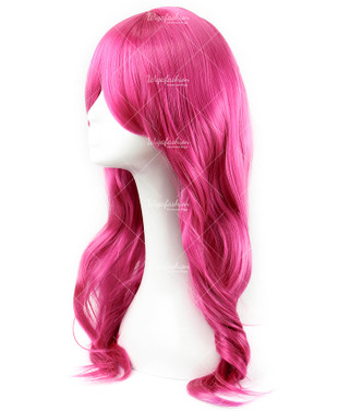 Hot Pink Cosplay Wig