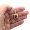 peanut butter and jelly sandwich necklace by inedible jewelry