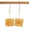 cracker earrings by inedible jewelry