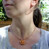 pumpkin pie necklace by inedible jewelry