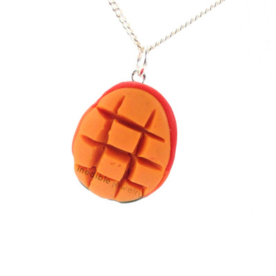 mango necklace by inedible jewelry