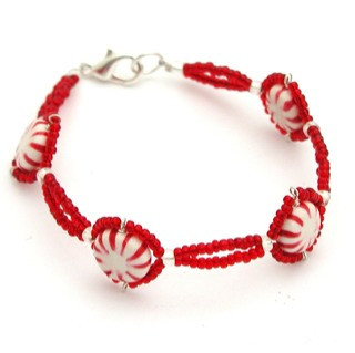 peppermints bracelet by inedible jewelry