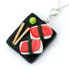 sushi platter necklace by inedible jewelry