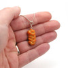 challah necklace by inedible jewelry