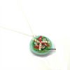 salad necklace by inedible jewelry: chicken and bacon
