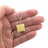 saltine cracker necklace by inedible jewelry