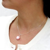 peppermint necklace by inedible jewelry