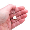 halloween ghost cookie necklace by inedible jewelry
