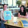 Jessica + Susan, book signing.