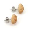 potato studs by inedible jewelry