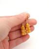 honey bear earrings by inedible jewelry