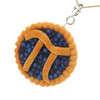 blueberry pi pie necklace by inedible jewelry