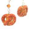 pretzel earrings by inedible jewelry