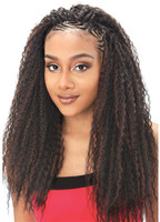 ModelModel Synthetic Hair Crochet Braids Glance Brazilian Curl