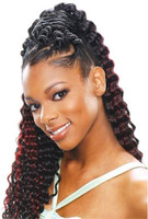 Model Model glance Deep soft curl