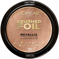 L'Oreal Highlighter Metallic Collection Crushed Foil 20 Gilded Glow 2.8g