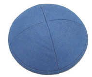 Blue Denim Cotton Kippah