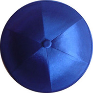 Royal Blue Satin Kippah